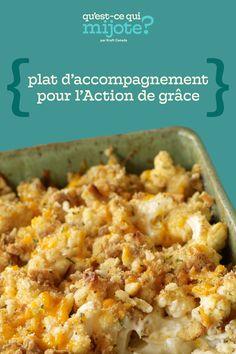 Chou-fleur au gratin #recette Kraft Recipes, Wine Recipes, Cooking Recipes, What's Cooking, Frozen Green Beans, Baked Cauliflower, Nutrition, Thanksgiving Sides, Cooking Instructions