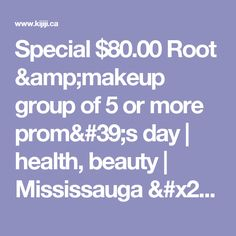 Kijiji - Buy, Sell & Save with Canada's Local Classifieds Updos, Health And Beauty, Group, Amp, Makeup, Places, Up Dos, Make Up, Party Hairstyles