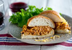 Turkey Sloppy Joes from White on Rice Couple for Cooking Channel