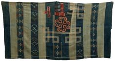 Africa | Manding robe from the 19th century | Part of Duncan Clark's private collection (Less than 25 examples are known from museum collections worldwide)