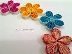 BlogGang.com : : Avilin : Quilling - Husking (1) ดอกไม้กระดาษ ตอนที่ 1