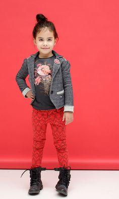 Cute Tumble N Dry Girls Colbert & Also Loving the Red skinny Jeans #meisjescolbert #tumbleNDry #kindermode #skinnyjeans www.kienk.nl