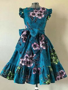 African Dresses For Kids, Ankara Dress Styles, Latest African Fashion Dresses, African Dresses For Women, African Print Dresses, African Print Fashion, African Attire, Africa Fashion, African Women