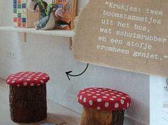 paddenstoelen kruk - Google zoeken