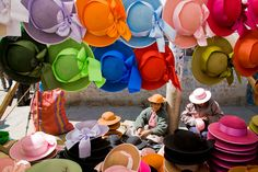 Sunday go to meeting hats......South America - Tom Robinson Photography