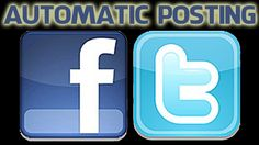 How to publish your blog post automatically on Facebook and Twitter