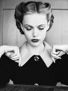 40s-inspired photoshoot