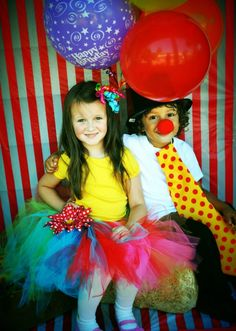 carnival party.  facebook - Sydnie Lynn Couture