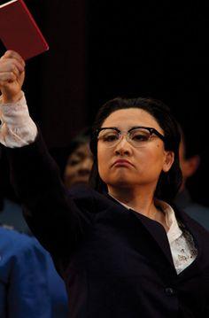 The Bo-ok, the Bo-ok - Kathleen Kim as a chilling Madame Mao in the Met's Nixon in China.