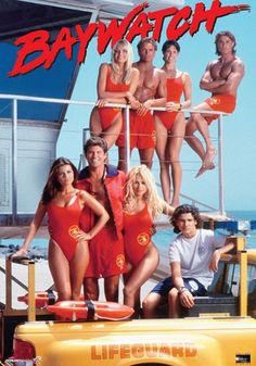 Baywatch (1989–2001) - Stars: David Hasselhoff, Pamela Anderson, Yasmine Bleeth. - Television series about a cadre of attractive lifeguards who patrol a crowded recreational beach. - DRAMA / ACTION / ADVENTURE