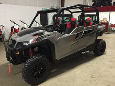 New 2017 Polaris GENERAL 4 1000 EPS ATVs For Sale in South Carolina. 2017 Polaris General™ 4 1000 EPS<br /> <ul> <li>Class-best 100 hp to light up the trail and broad, usable torque band to work</li> <li>Cabin with the most rear row legroom and comfort</li> <li>Class-leading Walker Evans suspension and ground clearance for the trail and to-do list</li> </ul> ALL-NEW COCKPIT:<br />The Polaris GENERAL's all-new cockpit was designed for the ultimate balance of work and play attitude for 4. From…