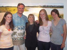 Caoimhe McKeon, Gerard McKeon, Publisher of Black Tie International Magazine, Rebecca Cooper, Saoirse McKeon and Maysie Makrianes