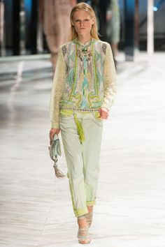 Roerto Cavalli, Ready-to-wear, Spring-Summer 2014