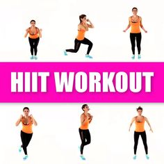 hiit workout,hiit workout at gym, hiit workout at home Total body at home workout. No equipment need for this fat burning HIIT workout routine. Hiit Workout Videos, Fitness Workouts, 20 Minute Hiit Workout, Hiit Workouts For Beginners, Hiit Workout At Home, At Home Workouts, Fitness Motivation, Leg Workouts, Arm Exercises