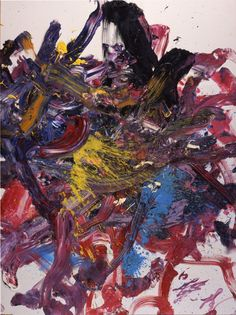 Kazuo Shiraga - Oil on canvas