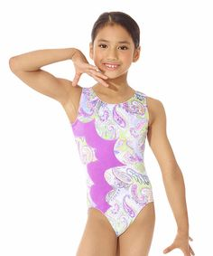 b3a8d7343b This spotlight-catching metallic and velvet leotard features a breathable  stretchy design for a fit that s snug and flexible.