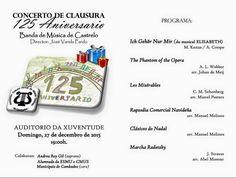 CORES DE CAMBADOS: CONCERTO DA BANDA DE CASTRELO HOXE