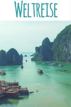 Weltreise | Ha Long Bay / Vịnh Hạ Long (Vietnam) / Lies auf meinem Reiseblog: 1 Jahr Weltreise - meine Highlights & Erfahrungen aus 14 Ländern