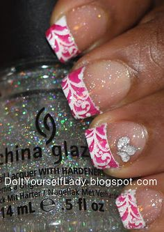 Tips on stamping French Tips