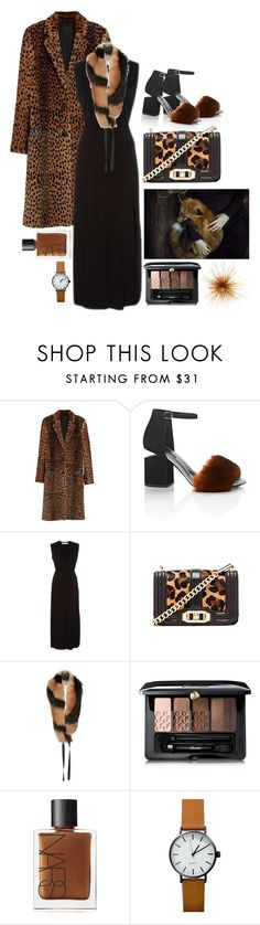 """""""Spots + Stripes"""" by cherieaustin ❤ liked on Polyvore featuring Alexander Wang, Prabal Gurung, Rebecca Minkoff, E L L E R Y, Guerlain, NARS Cosmetics and Dot & Bo"""