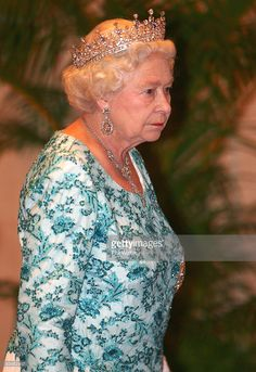Queen Elizabeth II arrives for the leaders dinner on the first day of the Commonwealth Heads of Government Meeting (CHOGM) at the Hyatt Hotel on November 27, 2009 in Port-of-Spain, Trinidad And Tobago. CHOGM is held every 2 years, bringing together world leaders to discuss key issues of a global and Commonwealth nature, and key policies and initiatives.