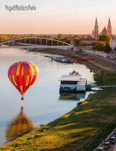 Szeged, Hungary Air Ballon, Hot Air Balloon, Hungary, Bali, Places To Go, Things To Do, Balloons, Europe, World