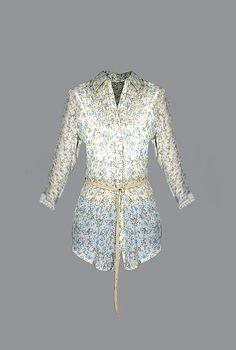 2c9b1f88058b Γυναικεία πουκαμίσα floral με ζωνάκι POUK-1605  woman  beautiful  fashion   fashionable