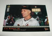 $7.99 - Cal Ripken Jr. Limited Edition 2131 Upper Deck 3x5 Baseball Card BALTIMORE ORIOLES HOF!  Shipped by First Class Mail in protective holder  FREE shipping!