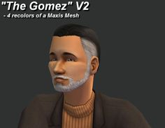questforsims:  I've got another gift for you guys! it's an alpha edit and recolor of this maxis hair, with grey sides. It's for adults and elders, and you can see the elder stage here. It's in the 4 maxis shades, properly binned and familied. I also made some matching beard and stubble, which are included in the download, speaking of which, here you go! http://simfileshare.net/download/49568/ My TOU is pretty simple, do whatever you want. It's the internet and I can't make you do anything…