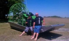 Repn the SL SOUTHERN LIFE airboat