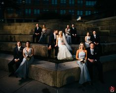 Bridal party posing on the rock steps right outside the CANAL 337 wedding venue   Downtown, Indianapolis. Wedding Reception Venues, Event Venues, Social Events, Corporate Events, Rock Steps, Bridal Party Poses, Skyline, United States, Beauty