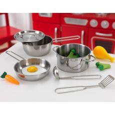 KidKraft Kitchen Pots and Utensils Set-listing