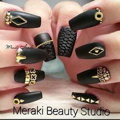 ✴✴✴〰Nail art 〰✴✴✴ Long Pink & Nude Nails #nail #nails #nailart #unha #unhas #unhasdecoradas