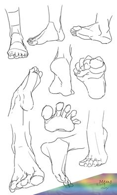 feet references - drawing - foot - ankle - anatomy - drawing tutorial You are i. - feet references – drawing – foot – ankle – anatomy – drawing tutorial You are in the rig - Drawing Techniques, Drawing Tips, Drawing Sketches, Art Drawings, Drawing Ideas, Pencil Drawing Inspiration, Hipster Drawings, Drawing For Beginners, Sketch Ideas