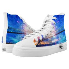 When I Look to the Sky High-Top Sneakers