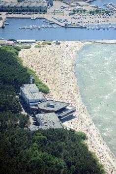 Pirita beach and Olympic Centre (Regatta 1980), Tallinn, Estonia