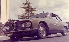 Italian police car - Squadra Volante 1970 Alfa Romeo 2600  sprint