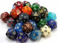 geek with curves: Geek Crafts: How to Make RPG Dice Earrings