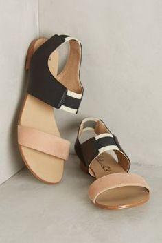 Splendid Coldwater Sandals Black #anthrofave