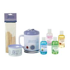 STUDENT WAX KIT SSWSTU The ideal wax kit for beginners, our Satin Smooth® Student Wax Kit features our best top-of-the-line tools and materials. Waxing Kit, Body Waxing, Wax Warmer Kit, Nail Salon Equipment, Becoming An Esthetician, Calming Oils, Best Electric Shaver, Queen Nails, Wax Hair Removal