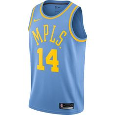 576aa740d Men s Los Angeles Lakers Brandon Ingram Nike Blue Fashion Current Player  Hardwood Classics Swingman Jersey