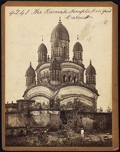 "splattergut: "" The Ramah Temple. Calcutta Francis Frith to "" Rare Pictures, Rare Photos, Vintage Pictures, Old Photos, Temple Architecture, Indian Architecture, Vintage Architecture, Flat Earth Facts, Hindu Temple"