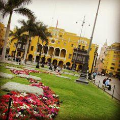 #Lima Hermosa y Deliciosa Ciudad :)