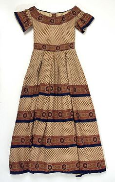 Dress  Date: 1860 Culture: American Medium: wool Minus it's hoop of course!