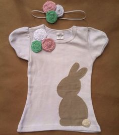 Easter Shirt and Headband by ABerrySweetBoutique on Etsy