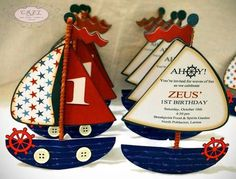 Nautical themed First Birthday Invitation Luxury Kara S Party Ideas Nautical themed Birthday Party Via Sailor Birthday, Sailor Party, Baby First Birthday, First Birthday Parties, First Birthdays, Sailor Theme, Nautical Birthday Invitations, Birthday Template, Nautical Party