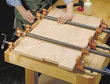perfect panel glue-ups