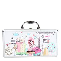 Nicole Lee Priscilla 14 Inch Brush Case Shopping Girl One Size -- Continue to the product at the image link. Note:It is Affiliate Link to Amazon.