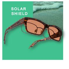 2ba6d7fcfa6 Solar Shield s new fits overs are sleek and fashionable. Fit Over  SunglassesCarrieEyeglassesLensesSolarEnvyGlassesLentilsEye Glasses