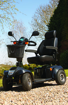 This high powered 6-8mph Mobility Scooter is excellent for getting out and about on the road. The Daytona XLR is capable of taking you that much further and has a range of amazing features included.